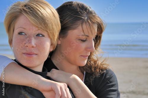 Fotografia  Amitié à la plage