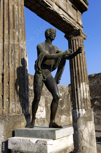 Garden Poster Napels Pompeji