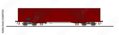 Fotografie, Obraz  Freight car