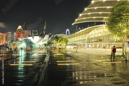 Photo  Marina Bay Urban Landscape