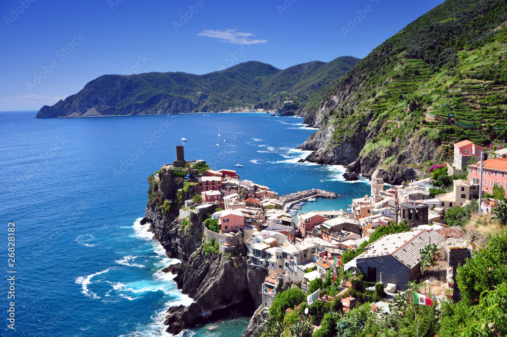 Fototapeta Vernazza, Cinque Terre, Italy
