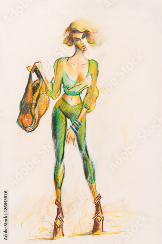szkic-kobiety-mody