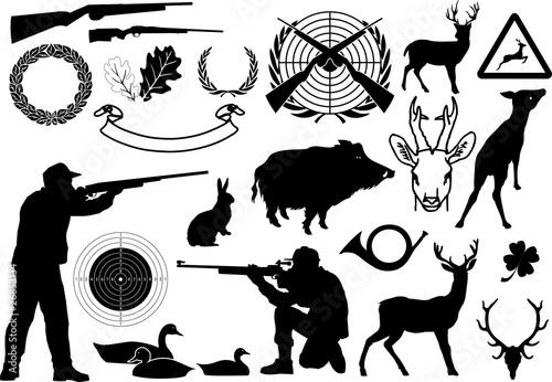 Photo  Jagd symbole 2