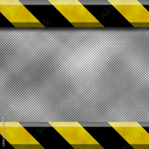 Fototapeta Hintergrund aus Metall und Rahmen obraz na płótnie