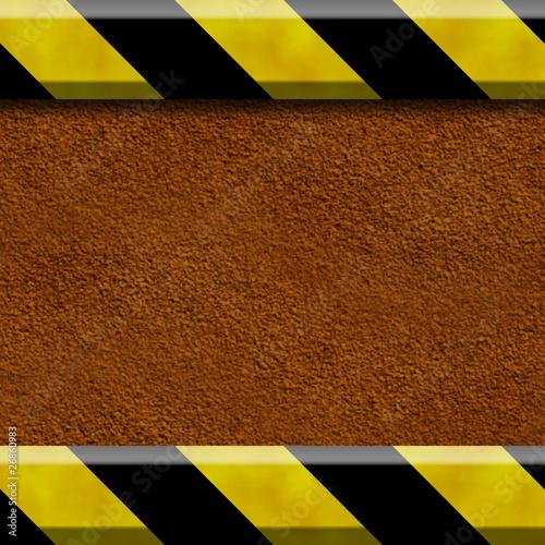 Fototapeta Hintergrund aus Rost und Metallbalken obraz na płótnie