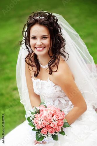 Fotografie, Obraz  Beautiful bride