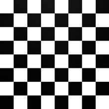 A Chessboard Pattern From Top ...