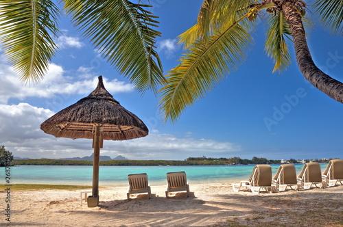 Photo Plage de l'île Maurice.