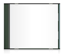 Vector Blank Cd Box For Your D...