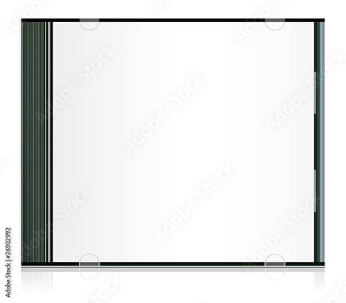Obraz Vector blank cd box for your design - fototapety do salonu