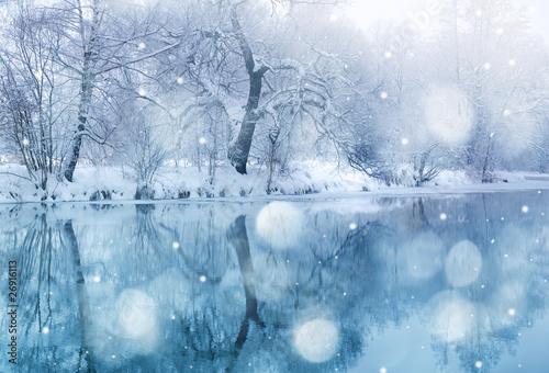 Fototapeta Okres zimowy obraz