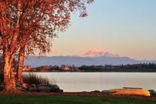Wiser Lake And Mount Baker