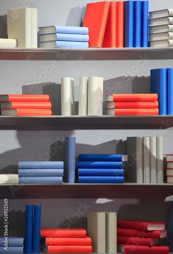 Buch Bücherregal Bücher Bücherrücken