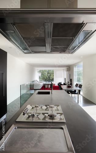 Obraz na plátně  interno di casa moderna
