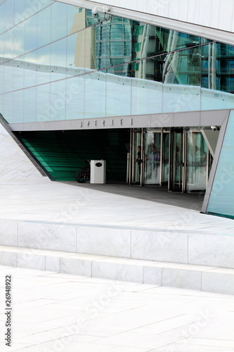 Photo  Norway's new opera-house