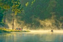 In The Morning,Pang Ung, Maehongson, Thailand