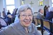 canvas print picture - Senior Woman in Church