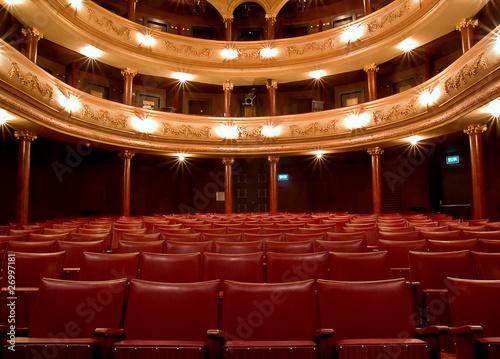 Fotografía  Inside Old theater