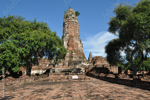Foto op Canvas Historical Temple in Thailand