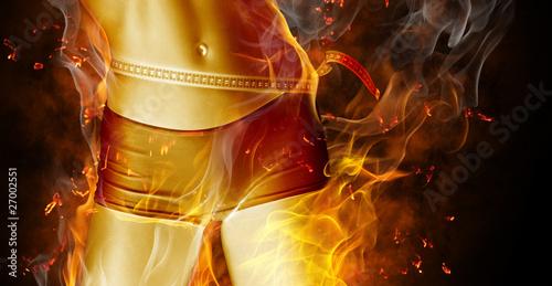 Fotografiet  flamy symbol