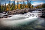 Mystic River in autumn