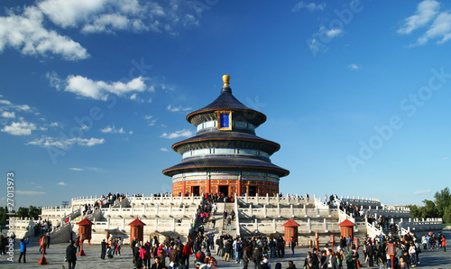 Spoed Foto op Canvas Beijing temple of heaven