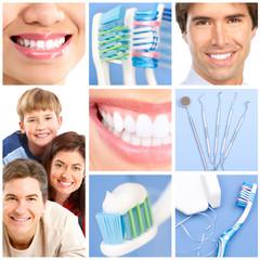 Panel Szklany Podświetlane Do dentysty dental care