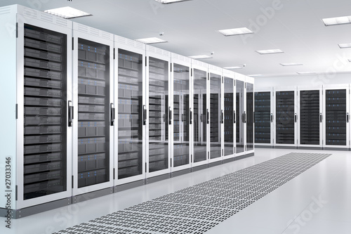 White Server Room 2