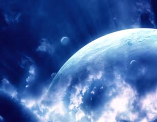 Fototapeta kosmos planeta