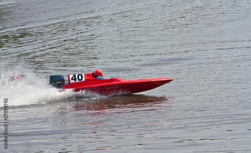 Garden Poster Water Motor sports Speedboat