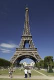 Fototapeta Fototapety Paryż - Wieża Eiffla