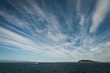 canvas print picture - Strands of cirrus clouds