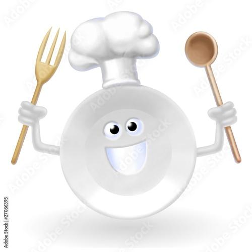 Fotografie, Obraz  piatto cuoco