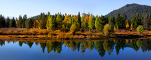Autumn Landscape In Wyoming