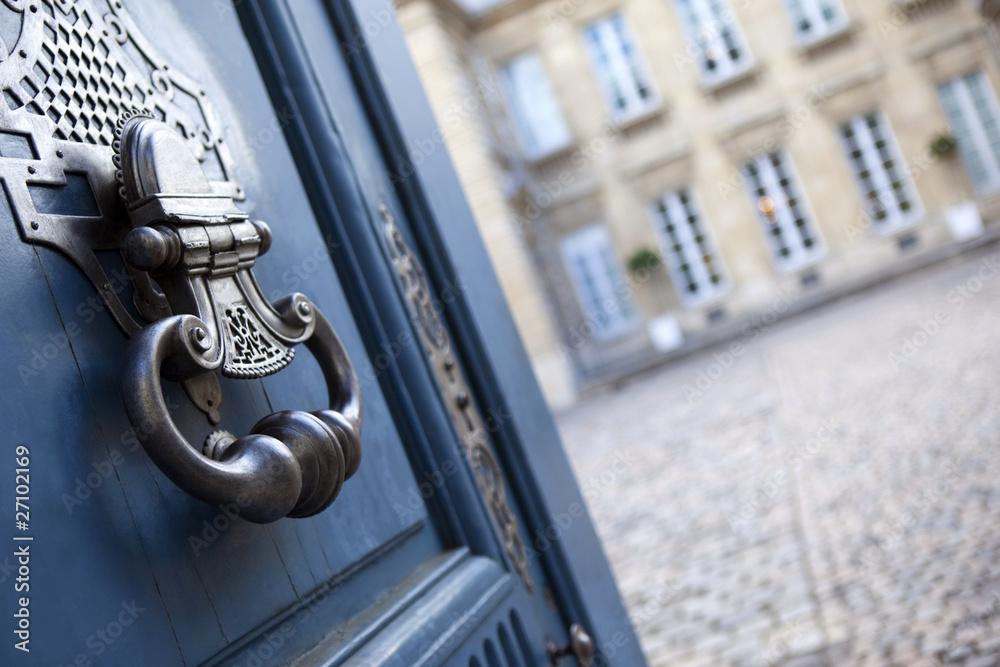 Fototapeta immobilier bordeaux aquitaine maison architecure porte