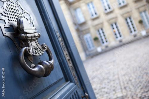 immobilier bordeaux aquitaine maison architecure porte Fototapete