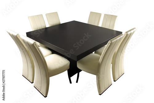 Mesa comedor minimalista: comprar esta foto de stock y ...