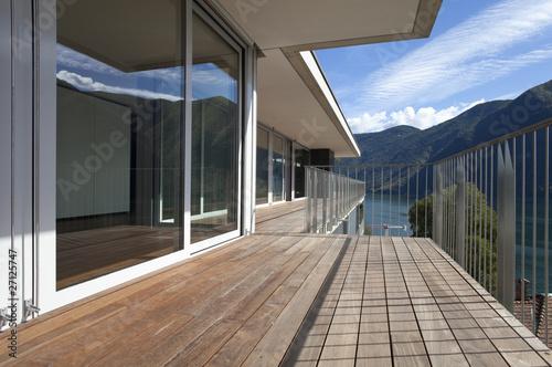 Grande Terrazza Di Legno Buy This Stock Photo And Explore Similar