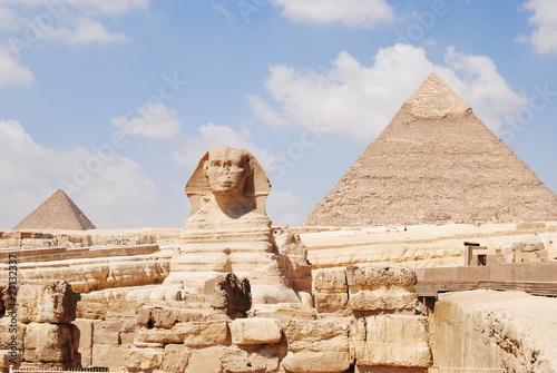 Tuinposter Egypte Sfinge