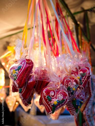Spoed Fotobehang Carnaval sugar hearts
