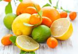 Citrus fresh fruits