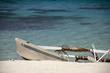 Outrigger Canoe on the Beach, Bora Bora, Tahiti, French Polynesi