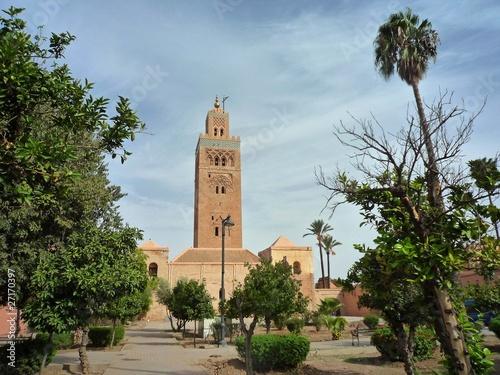 Recess Fitting Morocco La Koutoubia, Marrakech