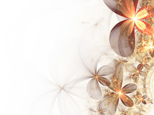 Abstract Fractal Flowers