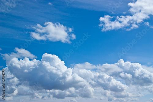 Wall Murals Heaven Blue sky white clouds