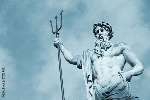 Obraz na plátně Statue Neptun