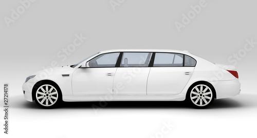 Fotografia White limousine