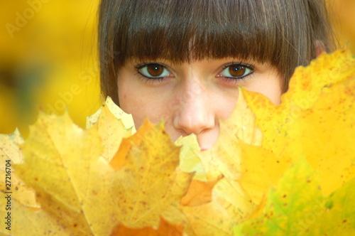 Obraz Autumn portrait - fototapety do salonu