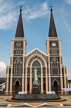 Catholic Church At Chantaburi Province