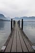 pontile nel lago